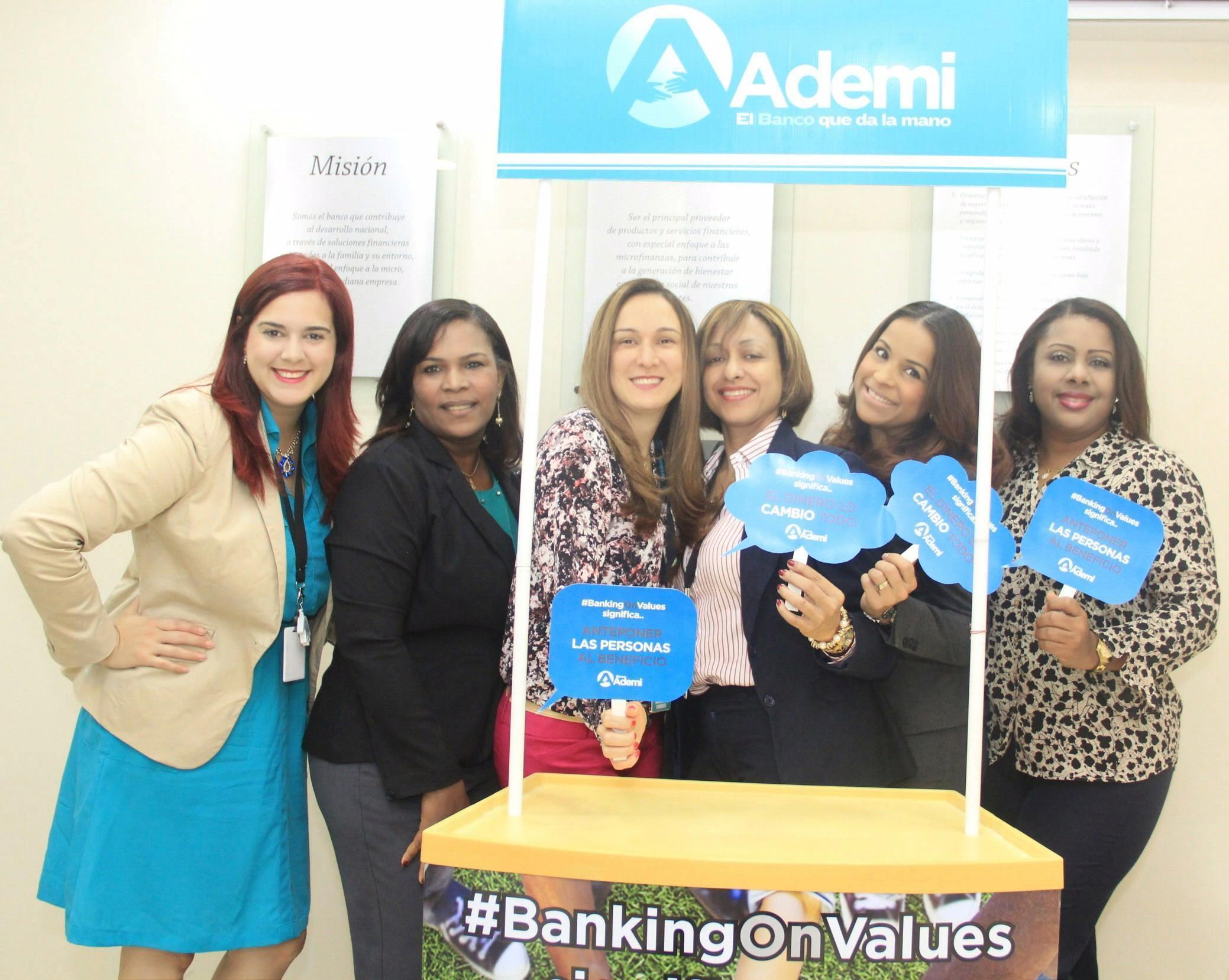 Banco Ademi conmemora día mundial banca con valores