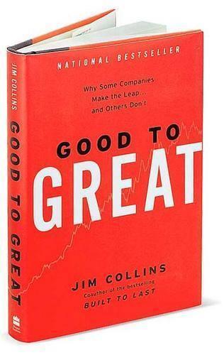 Libro: De buena a grandiosa – Good to Great #JinCollins