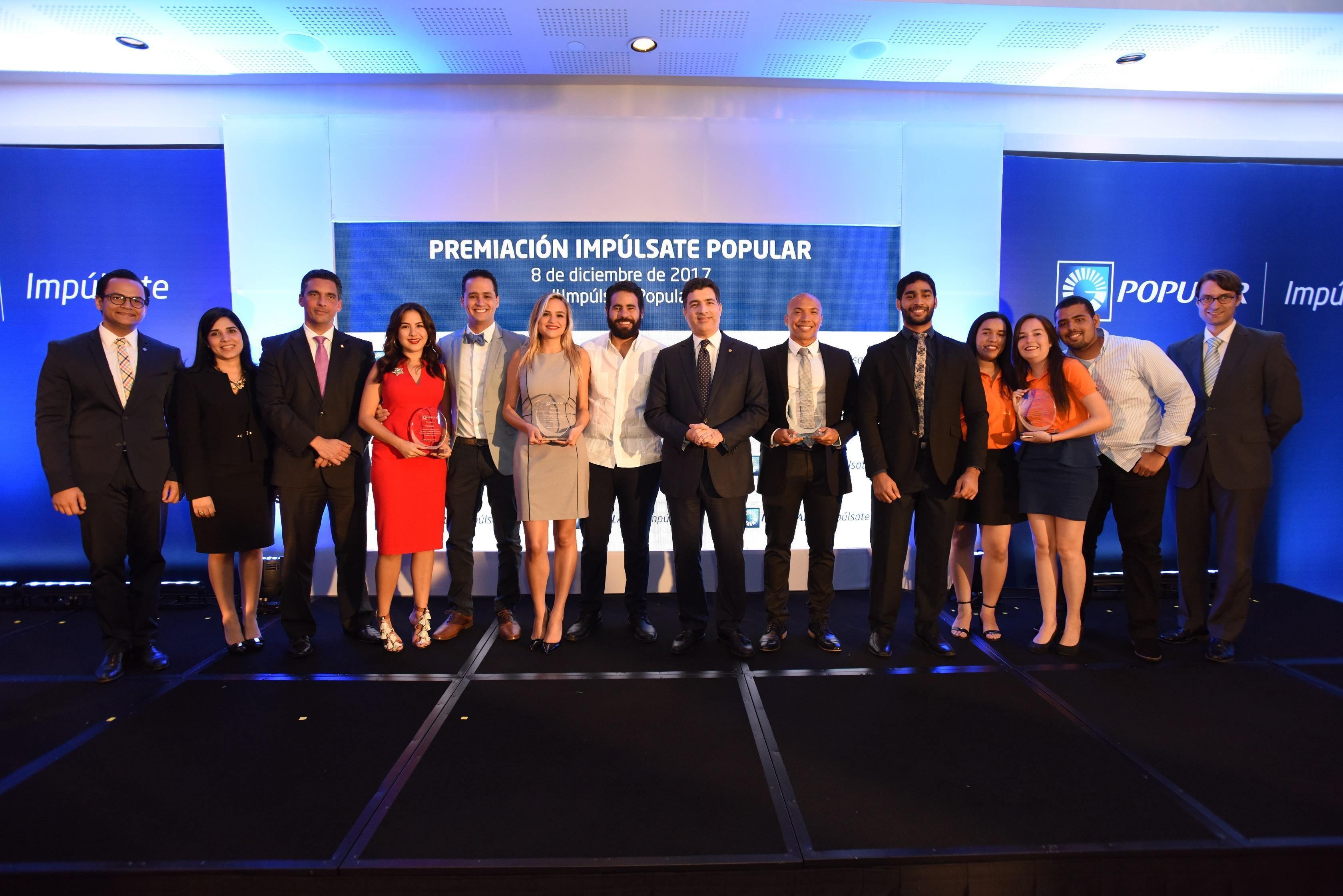 Banco Popular premia emprendimientos universitarios con su programa Impúlsate