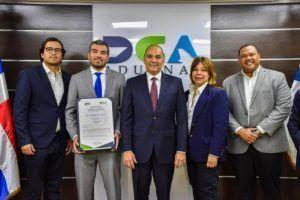 Aduanas otorga certificación OEA a empresa Espalsa