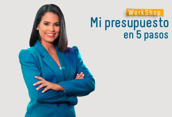 """Workshop """"Mi presupuesto en 5 pasos"""" con Diandra Vásquez"""